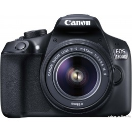 Зеркальный фотоаппарат Canon EOS 1300D Kit 18-55mm IS II